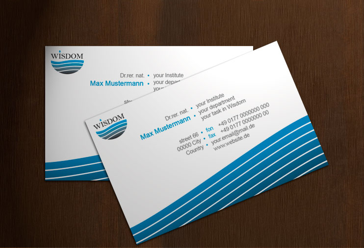 Wisdom business card